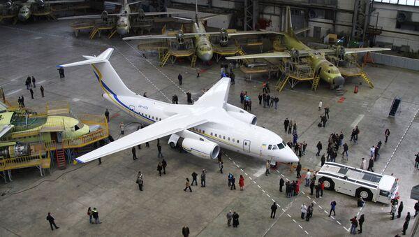 Antonov Serial Production Plant, file photo. - Sputnik International