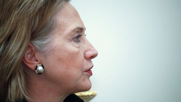 US Secretary of State Hillary Clinton - Sputnik International