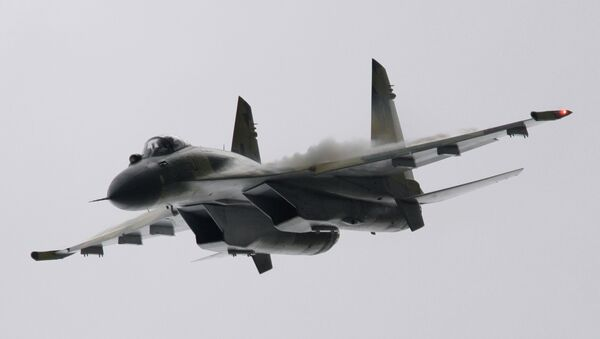 Sukhoi Su-35 multirole fighter - Sputnik International