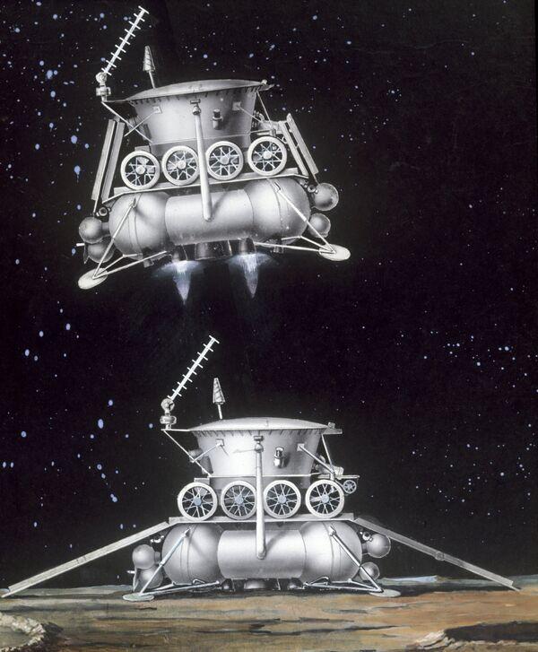 Lunokhod-1, first space hybrid on the Moon - Sputnik International