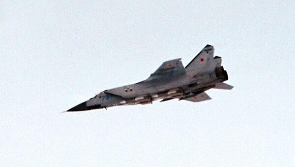 Russian MiG-31 fighter  - Sputnik International