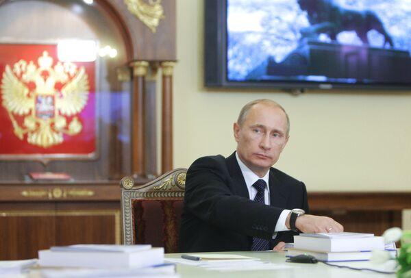 Prime Minister Vladimir Putin - Sputnik International
