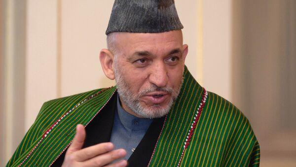 Hamid Karzai - Sputnik International