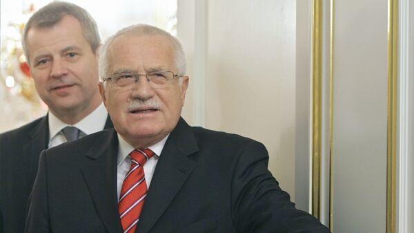 Vaclav Klaus - Sputnik International