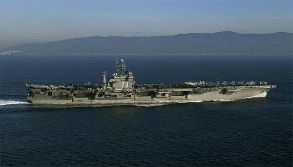 Nuclear-powered aircraft carrier George Washington - Sputnik International