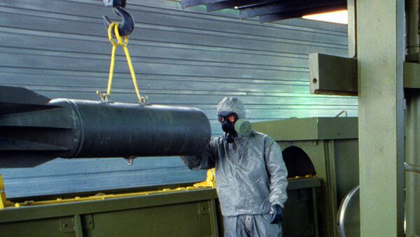 Russia May Delay Chemical Weapons Disposal Until 2020 – Paper - Sputnik International