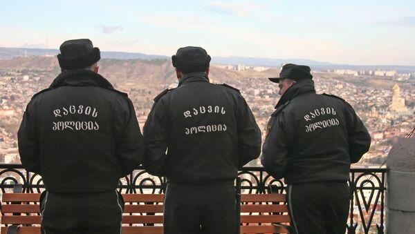 Georgian police - Sputnik International