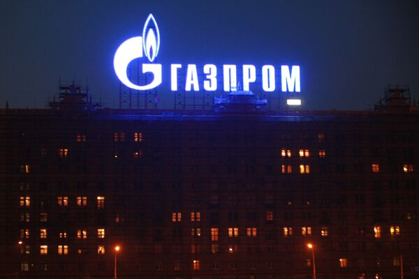 Russian gas export monopoly Gazprom - Sputnik International