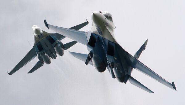 Su-27 fighter jets - Sputnik International