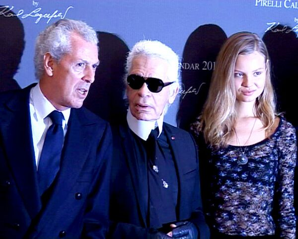 Karl Lagerfeld's Greek gods in Moscow - Sputnik International