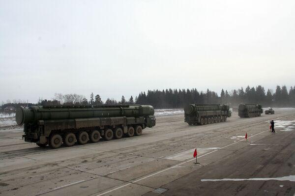 Russian strategic missiles - Sputnik International