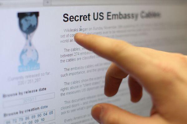 www.wikileaks.org - Sputnik International