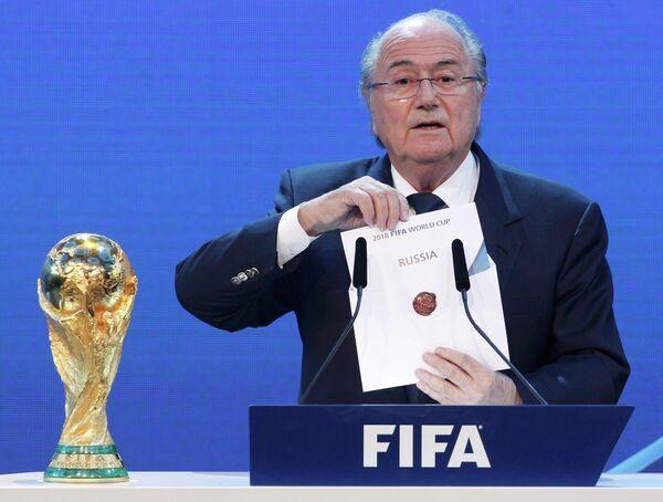 Sepp Blatter - Sputnik International