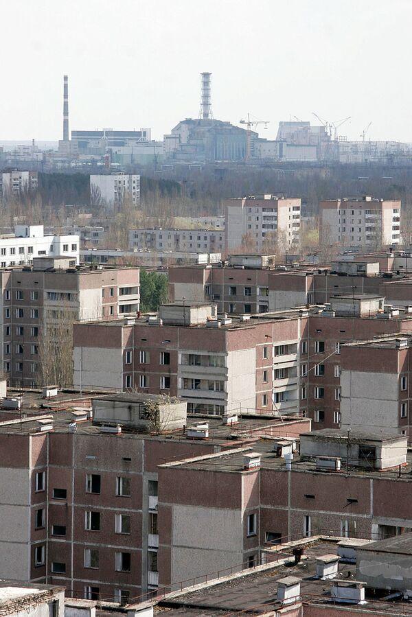 The Chernobyl nuclear power plant  - Sputnik International