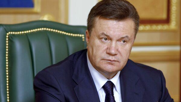 Ukrainian leader Viktor Yanukovych - Sputnik International
