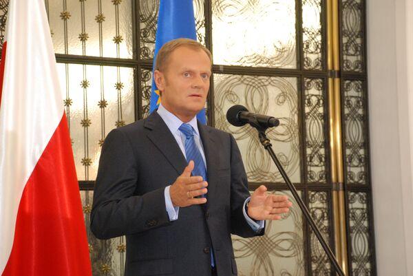 Премьер-министр Польши, лидер партии Гражданская платформа Дональд Туск - Sputnik International