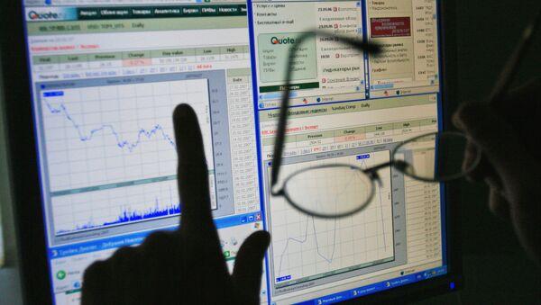 График состояния финансового рынка - Sputnik International