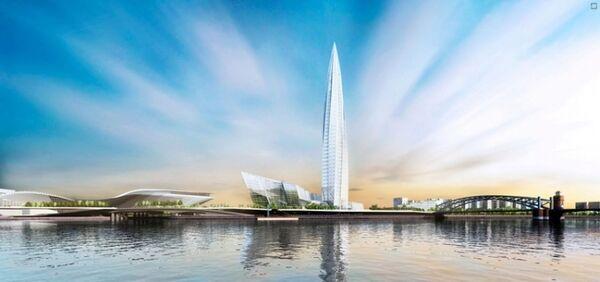 St. Petersburg governor relocates controversial Okhta Center skyscraper - Sputnik International