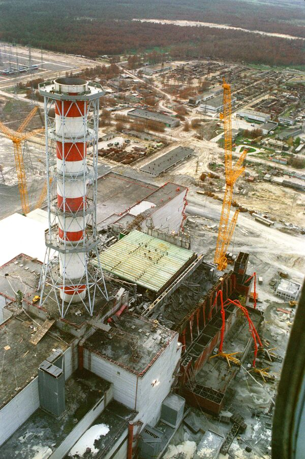 An explosion at the Chernobyl Nuclear Power Plant in 1986 resulted in highly radioactive fallout in the atmosphere over an extensive area. - Sputnik International