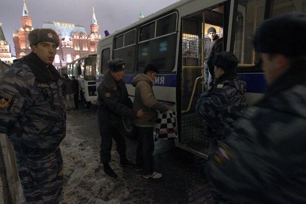 Police leave Manezh Square after riot threat abates - Sputnik International