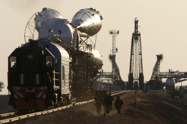 The spacecraft equipped with a Fregat booster was scheduled to blast off on July 11 at 6:58 Moscow time (2:58 GMT) from the Baikonur Space Center in Kazakhstan. - Sputnik International