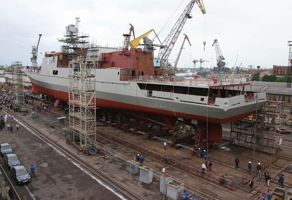 The shipbuilding plant Yantar - Sputnik International