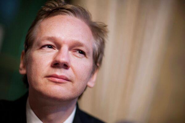 WikiLeaks founder Julian Assange  - Sputnik International