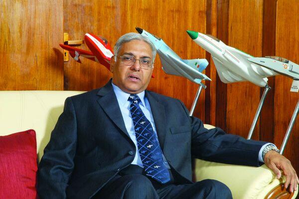 Chairman of state corporation Hindustan Aeronautics Limited (HAL), Ashok  Nayak - Sputnik International