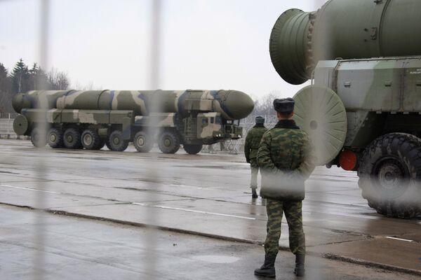 Topol missile system - Sputnik International