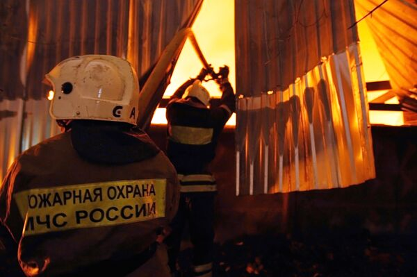 Fires claim record 84 lives in one day in Russia - Sputnik International