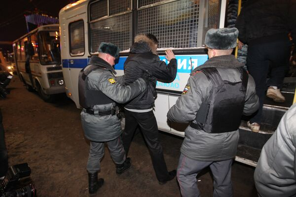 Over 460 people detained near Moscow over riot attempt - Sputnik International
