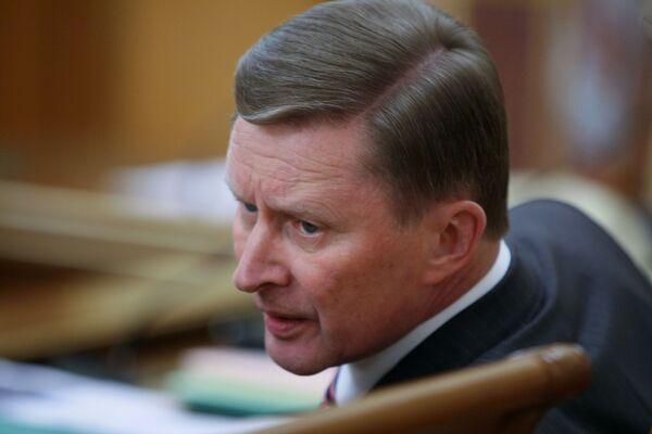 Deputy Prime Minister Sergei Ivanov - Sputnik International