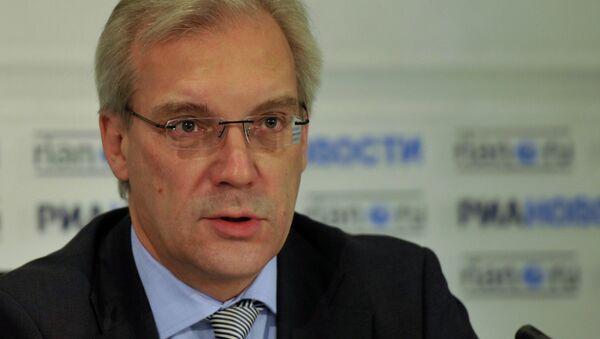 News conference with Russian Deputy Foreign Minister Alexander Grushko - Sputnik International