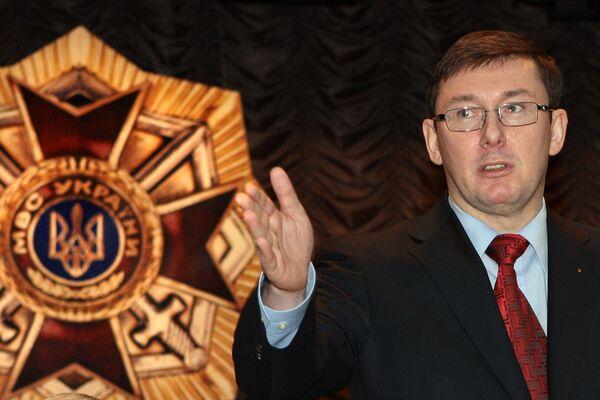 Former interior minister Yuriy Lutsenko - Sputnik International
