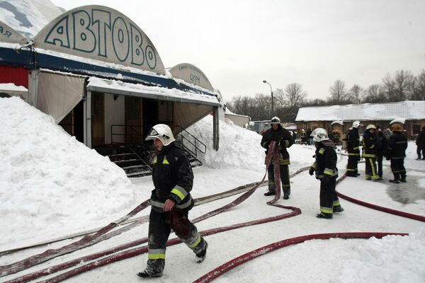 Over 50 animals perish in flames as circus in St. Petersburg burns - Sputnik International