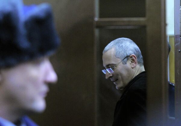 Russia's once richest man Khodorkovsky has been found guilty of stealing 218 million tons of oil from his own company, Yukos, and laundering the proceeds, worth around $100 million. - Sputnik International