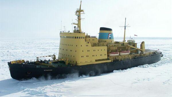 Rescue operation in the Okhotsk Sea - Sputnik International
