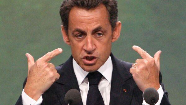 Nicholas Sarkozy  - Sputnik International