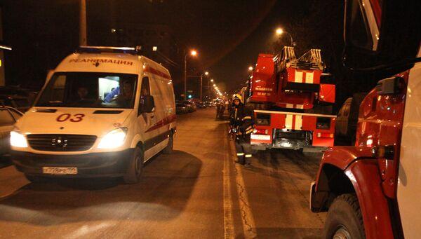 No one was injured in a fire that followed the blast. - Sputnik International