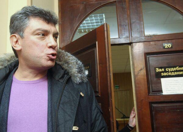 Russian opposition leader Boris Nemtsov - Sputnik International