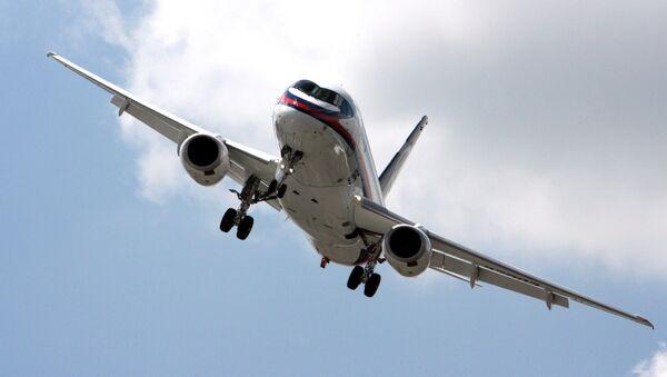Sukhoi Superjet 100 (SSJ) passenger aircraft - Sputnik International