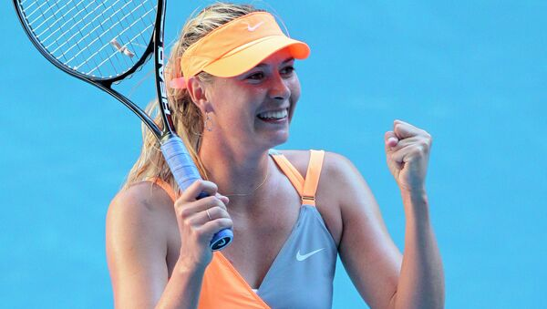 The Rio 2016 Olympics will be Sharapova's third attempt to win the Olympic gold medal. - Sputnik International