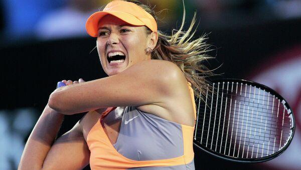 Russian tennis star Maria - Sputnik International