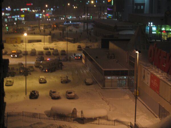 One dead as roof collapses in St. Petersburg supermarket  - Sputnik International