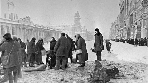Residents of Leningrad - Sputnik International