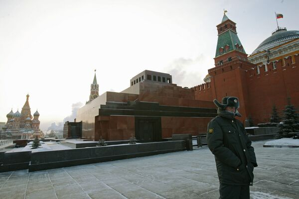 The mausoleum in Moscow's Red Square - Sputnik International
