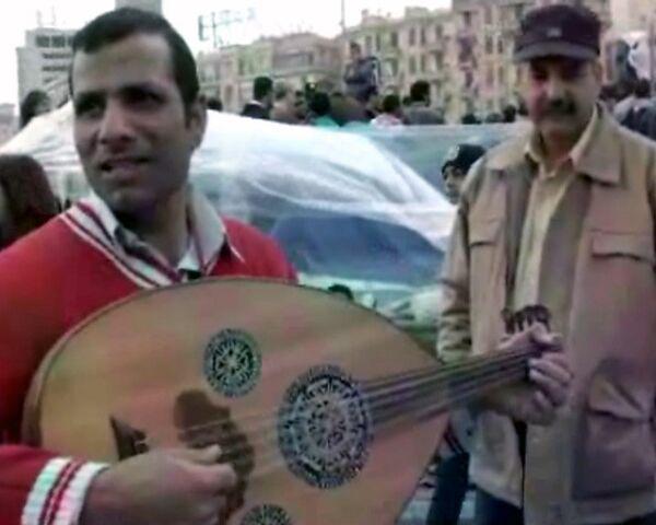 Anti-Mubarak crowd celebrates two weeks of protests  - Sputnik International