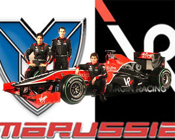 Fomenko unveils new  Formula One car - Sputnik International