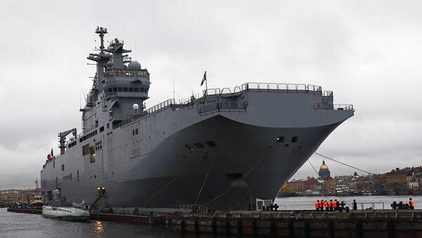 Mistral class amphibious assault ship - Sputnik International