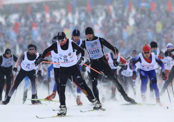 Russian Ski Run 2011 - Sputnik International